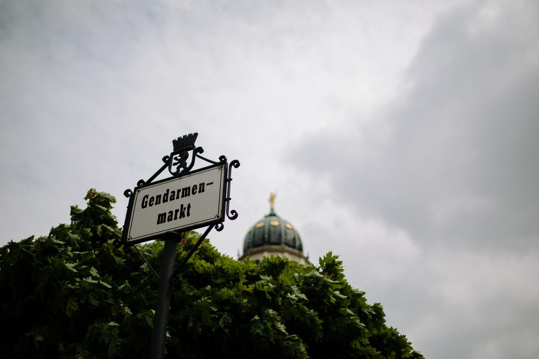 Hochzeit in Berlin Mitte am Gendarmenmarkt