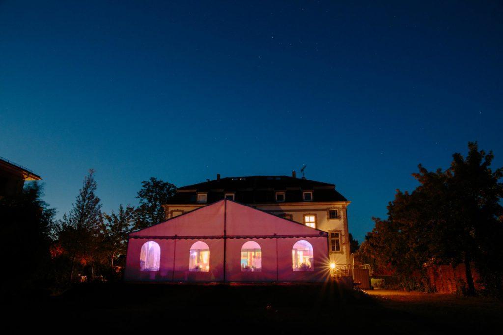 Abendstimmung im Hotel Seeterrassen am Wandlitzsee